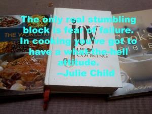 Julie Child Quote